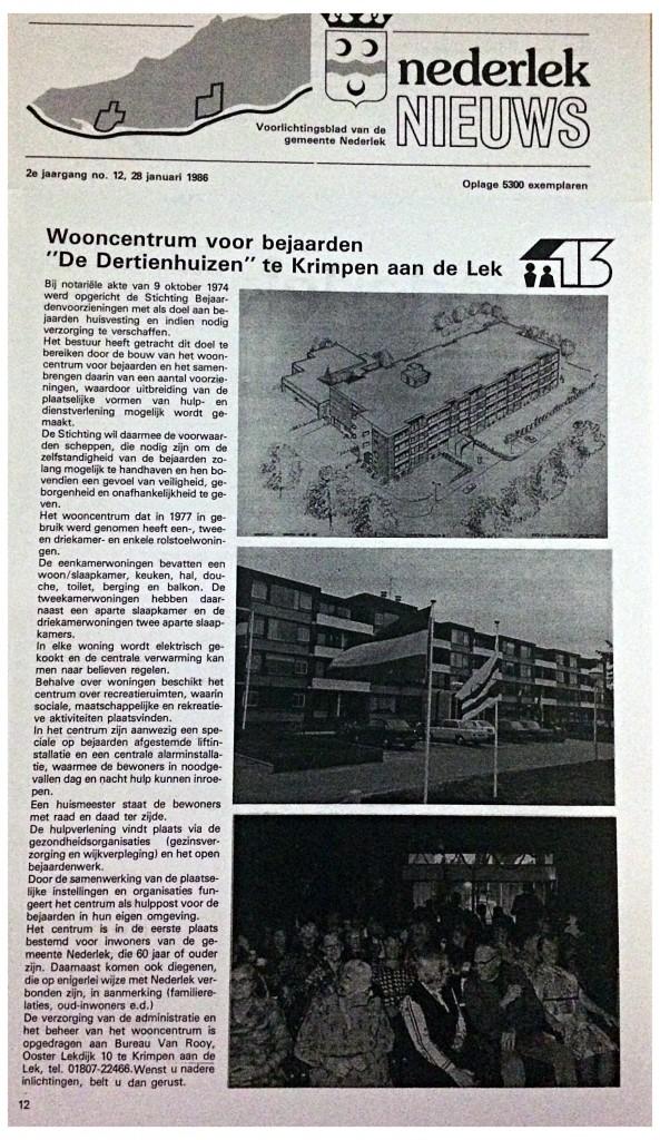 SON - Nederlek Nieuws 1986