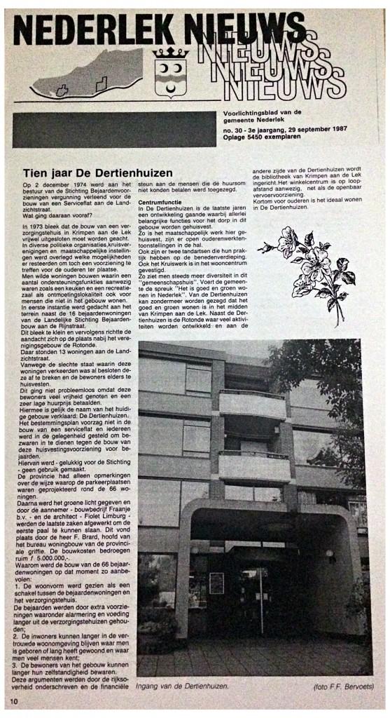 SON - Nederlek Nieuws 1987