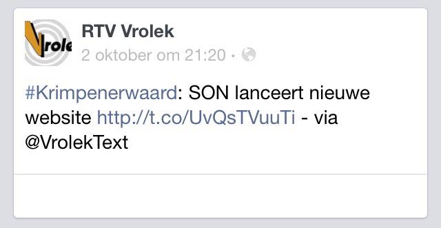 SON - RTV Vrolek